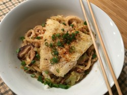 Photo of Seared Cod & Udon Noodles