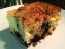 Photo of Sour Cream Blueberry Coffee Cake